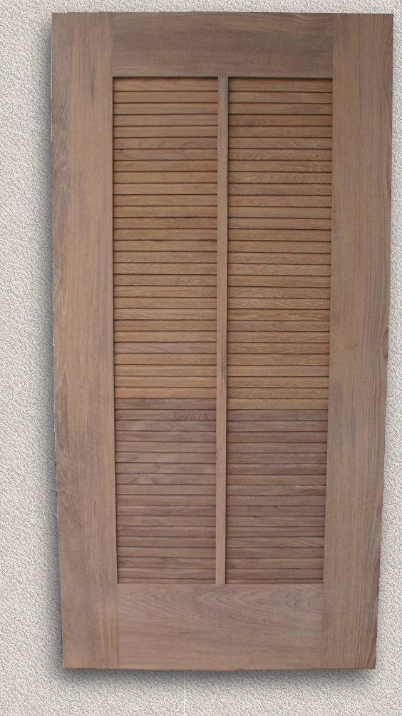 Teak Outdoor Shower Floor