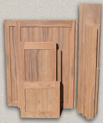 Doors Outdoor Kitchen - Custom Teak Marine Woodwork