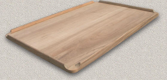 Solid Teak Drop Leaf Style   Unfinished U0026 W/Epifanes Finish Applied By  Customer
