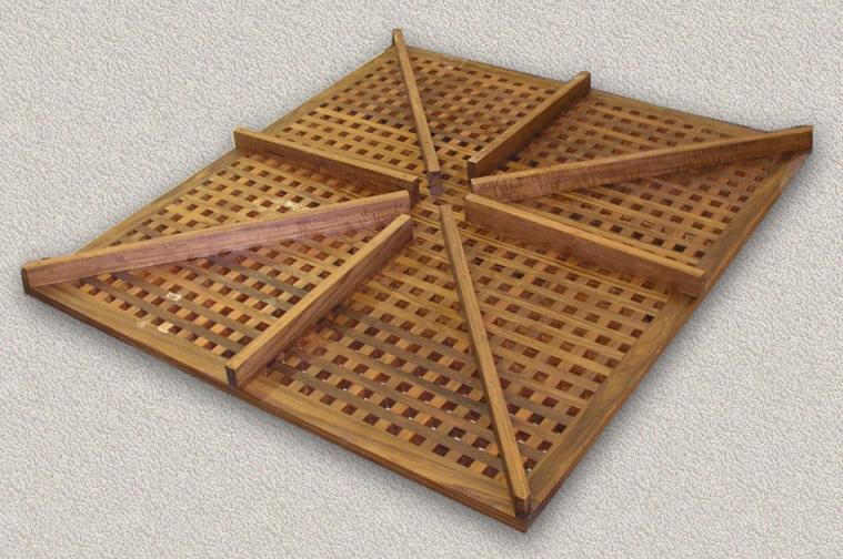 . Floor Grating   Custom Teak Marine Woodwork