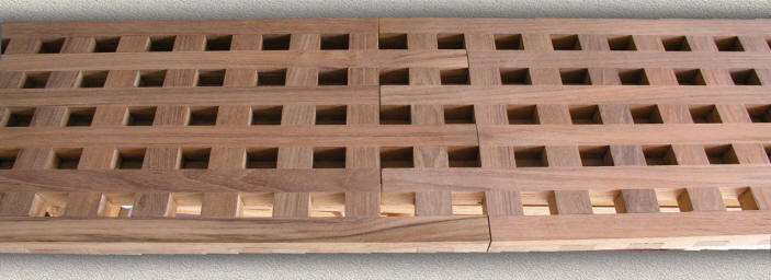 Floor Grating Custom Teak Marine Woodwork