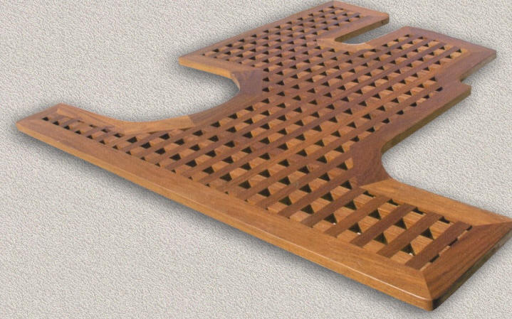 Floor Grating - Custom Teak Marine Woodwork