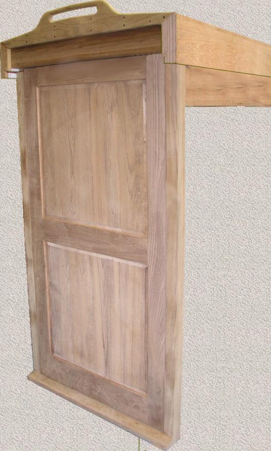 Sliding Hatch Door : Sliding hatch entry cover