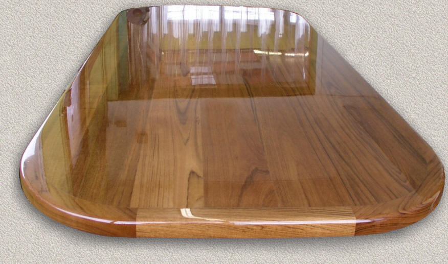 Teak Table Tops Custom Teak Marine Woodwork