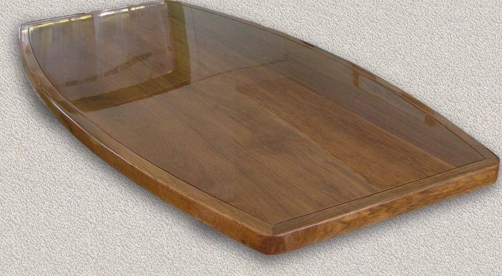 Beau Same Table As Above W/High Gloss Finish Base Coats   2 Part Clear Epoxy Top  Coats   2 Part Polyurethane