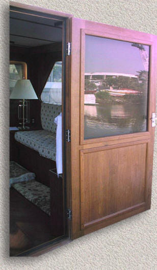 Entry Doors Custom Teak Marine Woodwork