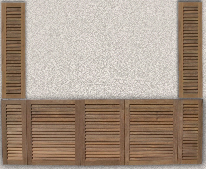 Pine Louvered Cabinet Doors Cabinets Matttroy
