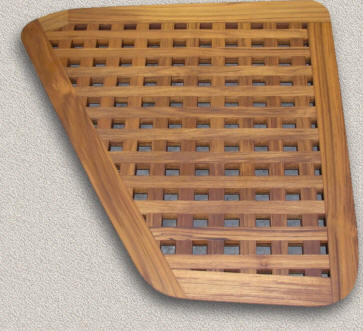Floor Grating Custom Teak Marine Woodwork