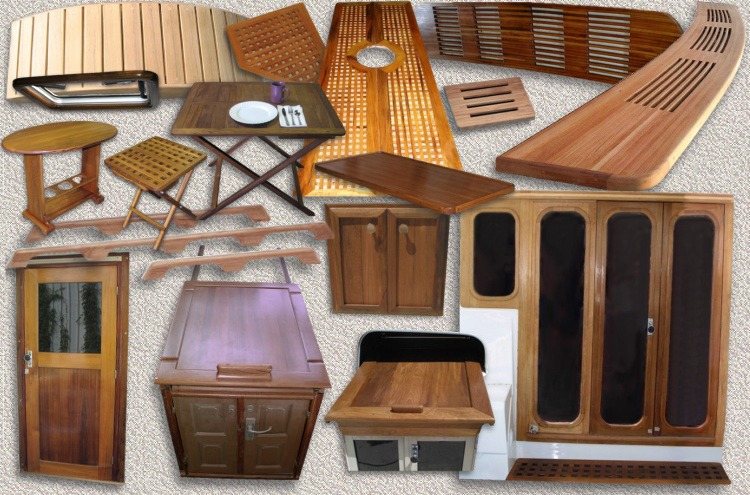 Custom Teak Marine Woodwork By Custom Teak Marine Inc