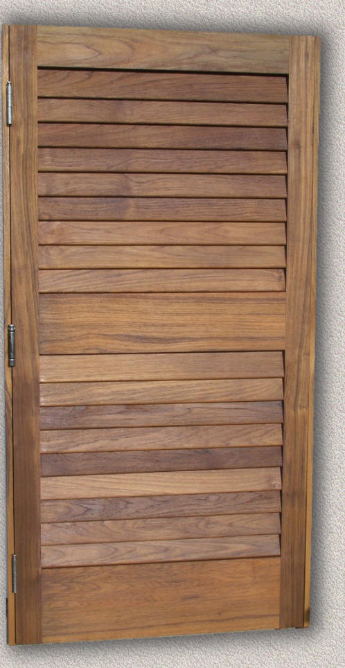 Doors Interior Custom Teak Marine Woodwork