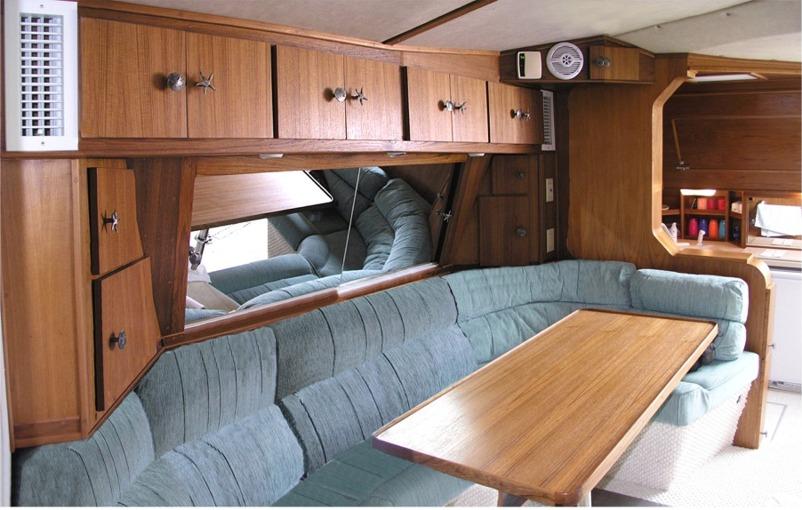 nordisk interior teak  : Custom Teak Interiors - Custom Teak Marine Woodwork